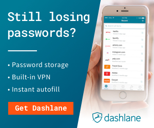 Dashlane - Still losing Passwords?