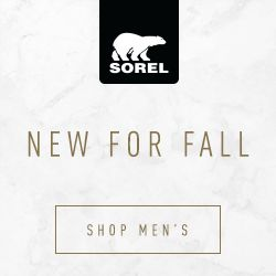 Shop now at SOREL.com!