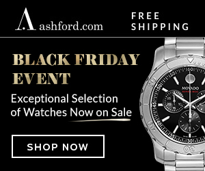 Ashford Promo Code Black Friday Watches Deals up to 80% Off