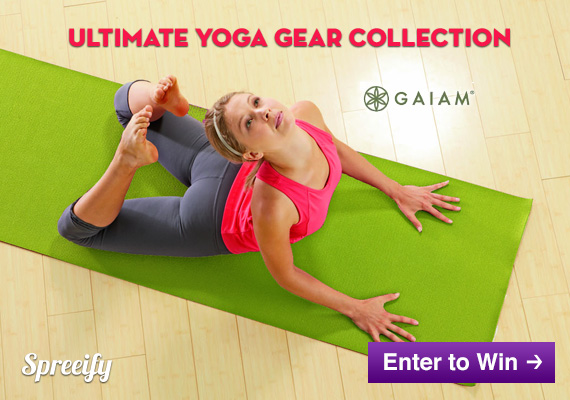 Ultimate Yoga Gear Collection Giveaway from Gaiam