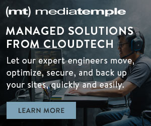Cloud Hosting from Media Temple