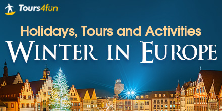 Magical Winter in Europe: 10% Off