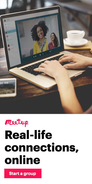 Real life connections, online. Start a group.
