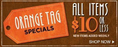 orange tag specials