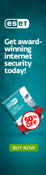 ESET Holiday Promo - 50% off ESET Cyber Security for Mac!