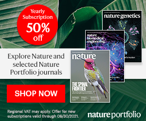 Save now on Nature