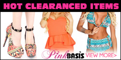 Shop for Hot Clearance Items at PinkBasis.com