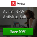 Get 10% off Avira Antivirus Suite