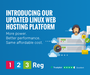 Image for Web Hosting 300X250