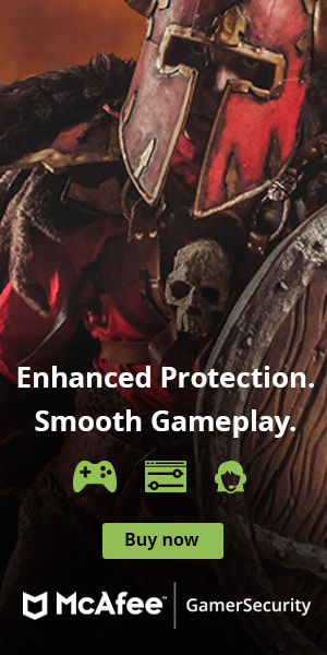 McAfee Gamer Security Enhanced Protection