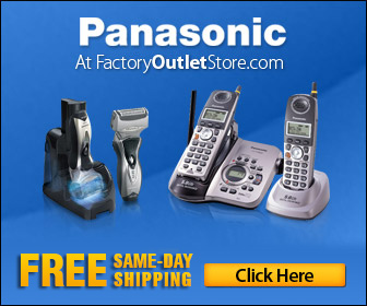 Panasonic Products at FactoryOutletStore