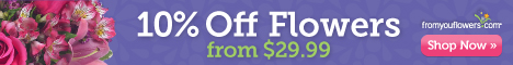 FromYouFlowers.com Coupon