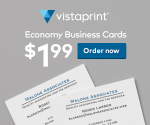 100 Economy Business Cards for...