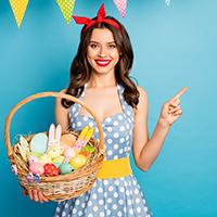 Easter Sale—$59-10%, $79-12%, $99-15%; CODE: EASTER
