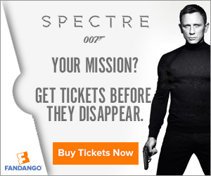 Spectre Movie Tickets