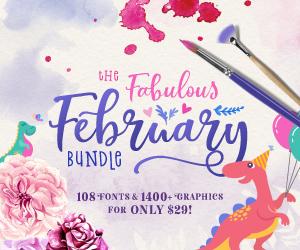 SALE!! 96% OFF Get The Fabulous February Bundle
