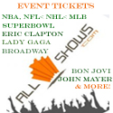 AllShows.com Tickets. Tickets to All Events