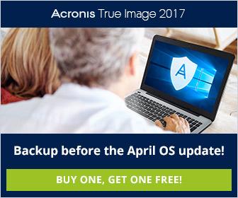 Acronis True Image 2017 New Generation