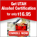 Learn2Serve- Get Utah Alcohol Certification for $16.95 125x125