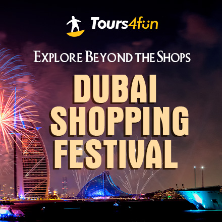 Dubai Shopping Festival: Tours Up to 15% off