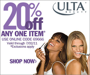 20% off your order at ULTA