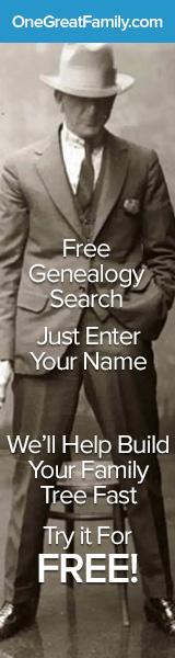 160x600 Free Genealogy Search