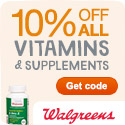 Up to 50% off select Vitamins and Supplements + save an extra 10% w/ code 10HEALTHY