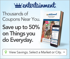 Entertainment Coupon Books
