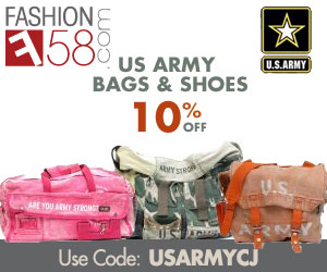 10% Off US Army Bags & Shoes - Use Code USARMYCJ