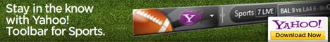 Yahoo! Sport Toolbar - 468x60