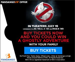 Fandango - Ghostbusters Sweepstakes