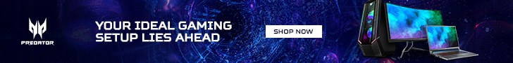 Shop now with Predator Gaming.