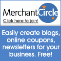 Merchant Circle 125x125 - Create blogs, coupons