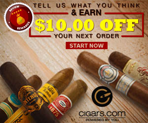 Cigars.com Promo Code 2018 - $10 Off
