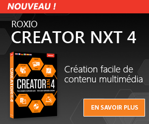 Un logiciel de pros pour les passionnés de photos et vidéos: Roxio Creator 2010