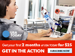 300x225 USA Today Sports - First 2 Months of USA Today for $25