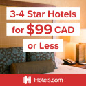 Hotels.com Canada: $99 or Less