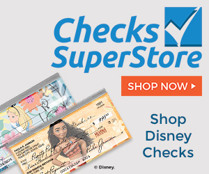 Shop Disney Checks at Checks Superstore Now!