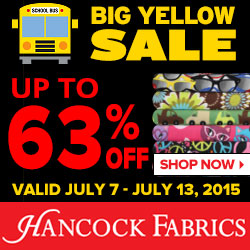 The SPECTACULAR SALE at Hancoc...