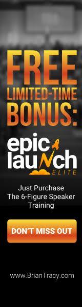 160x600 Epic Launch Elite - The 6-Figure Speaker Training Plus Bonus