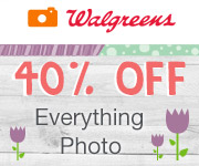 40% off ALL Photo Orders w/ code ALLSITE40