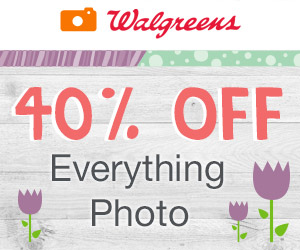 Walgreens Photo 40% off EVERYTHING Extended through Saturday