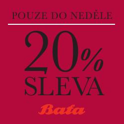 Bata.cz - 20% sleva se slevovým kódem 'vikend20cza'