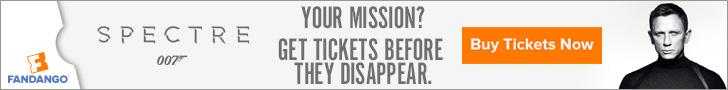 Spectre Movie Tickets
