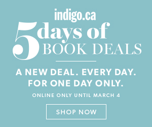 5 Days of Books Deals - a new deal every day!