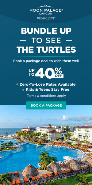 Flights + Free Night. Up to 35% off all-inclusive luxury at Moon Palace Cancun. Safe Travels