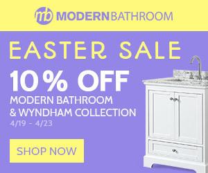 Modern Bathroom Sale - up to 10% Off