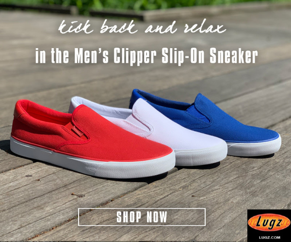 Lugz Men's Clipper Slip-On Sneaker