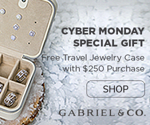 Cyber Monday Offer Fine Jewelry Banner