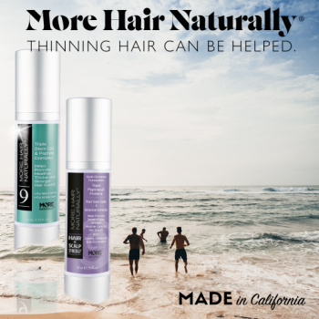 Thinning hair can be helped!